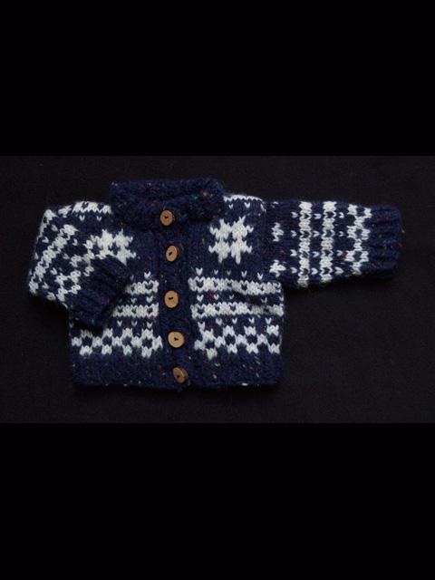 Norwegian Fana Cardigan Knitting Traditions