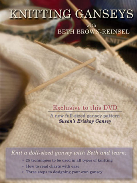 Knitting Ganseys DVD