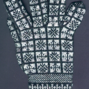 Compass Rose Sanquhar Gloves