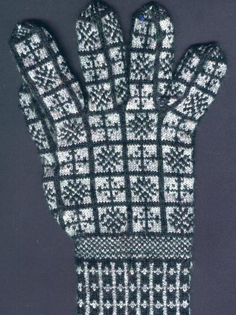 Compass Rose Sanquhar Gloves