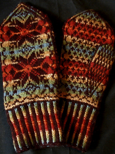 Nordic Mittens