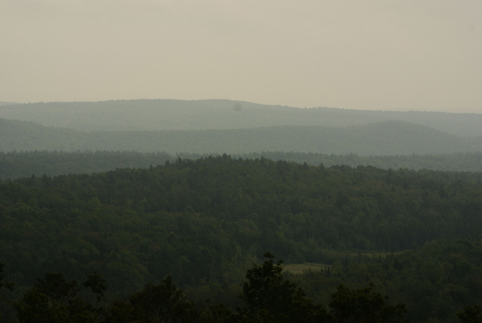 Landscape of Vermont Mountains